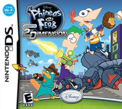 NinDS - Phineas and Ferb: Across the 2nd Dimension