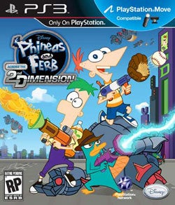 PS3 - Phineas and Ferb: Across the 2nd Dimension