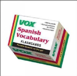 VOX Spanish Vocabulary Flashcards (Cards)
