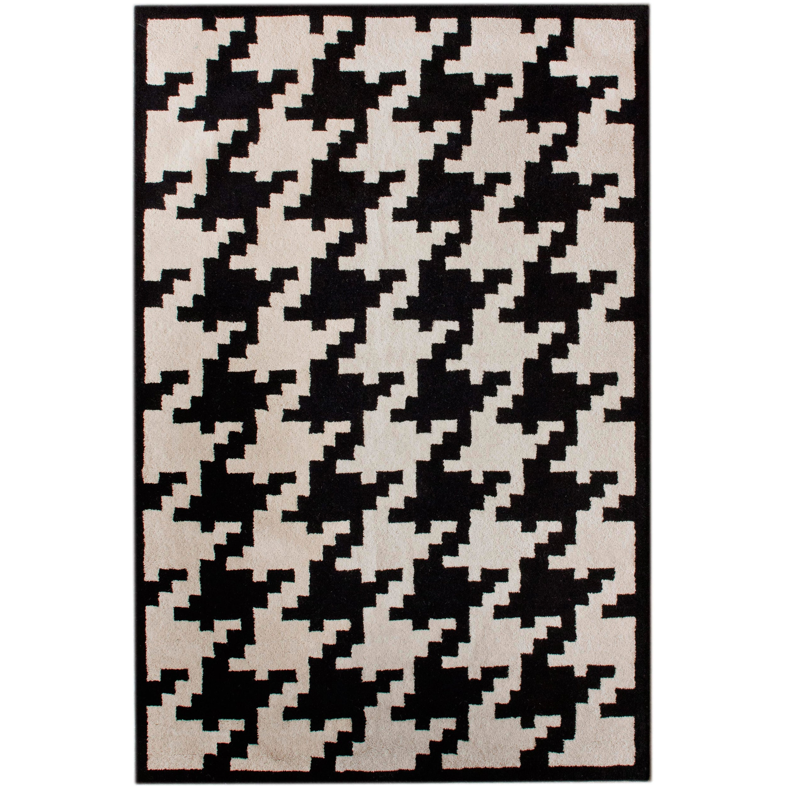 nuLOOM Hand-tufted Spectrum Houndstooth Wool Rug (5' x 8') at Sears.com