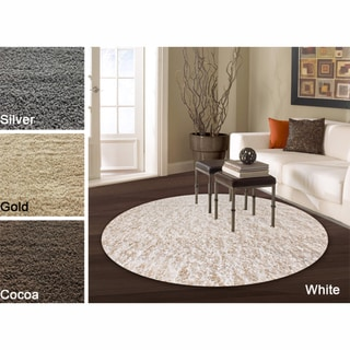 nuLOOM Alexa My Soft and Plush Shag Rug (8' Round)