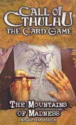 The Call of Cthulhu The Card Game: The Mountain of Madness Asylum Pack (Cards)