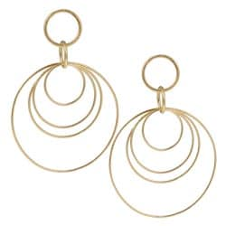 Rivka Friedman 18k Goldplated Multi-circle Earrings