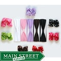 Big Polka Dot Bow and Soft Stretch Polyester Headband