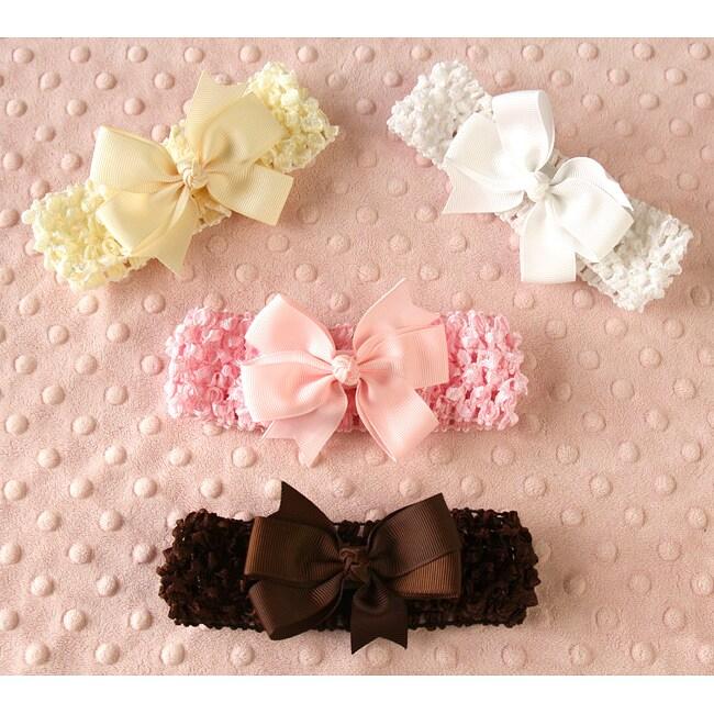 Headbands and Bows 8-piece Set