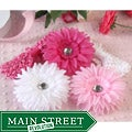 Pink Rhinestone Daisy 5-piece Headbands Set
