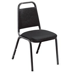 Standard Vinyl-upholstered Stacking Chairs (Case of 20)
