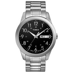 Timex Men's T2M932 Elevated Classics Dress Stainless Steel Expansion Band Watch