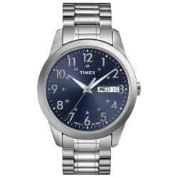 Timex Men's T2M933 Elevated Classics Dress Stainless Steel Expansion Band Watch