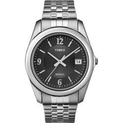 Timex Men's T2N317 Elevated Classics Dress Stainless Steel Expansion Watch