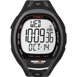 Timex T5K253DH Men's Ironman Sleek 150-lap TapScreen Black Watch