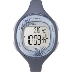 Timex Women's T5K484 Health Tracker Floral Navy Watch