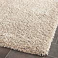 Cozy Beige Shag Rug (4' x 6')