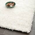 Medley Off-White Textured Shag Rug (4' x 6')