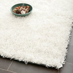 Medley Off-White Textured Shag Rug (8' x 10')