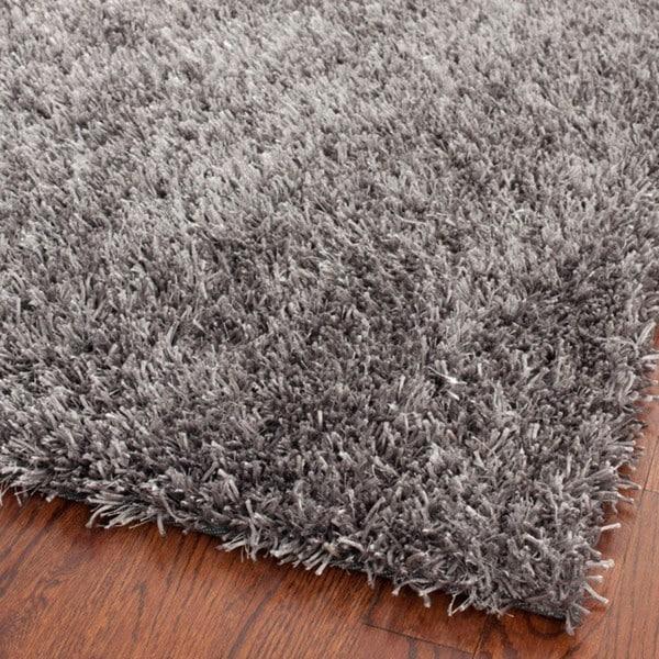 Safavieh medley grey textured shag rug 5 x 8 overstock shopping