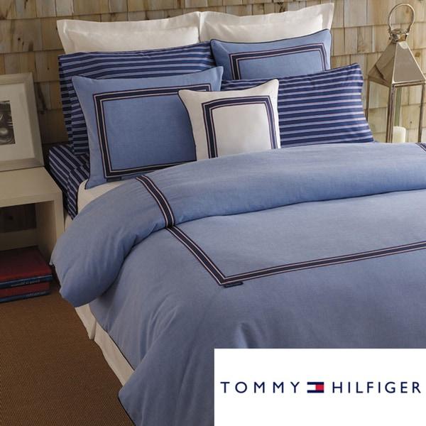 Tommy Hilfiger Oxford Blue King-size Comforter