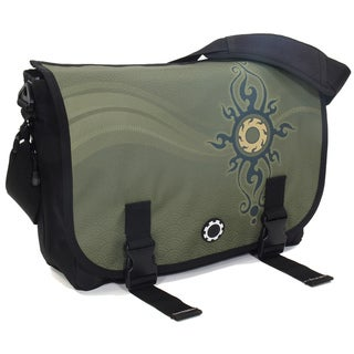 DadGear Messenger Diaper Bag in Zen Sun