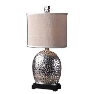 Harrison Nickel-plated Table Lamp