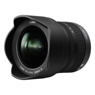 Panasonic H-F007014 7 mm - 14 mm f/4 Ultra Wide Angle Zoom Lens for M