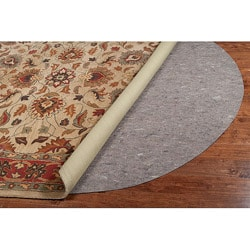Premium Dual-felted Rug Pad (4'6 x 6'6 oval)