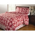Mandarin Red 4-piece Quilt Set