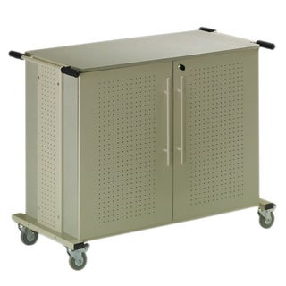 Kwikfile/ Mayline Heavy-duty Mobile Laptop Storage Cart