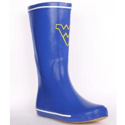 West Virginia Mountaineer Women's Centered Logo Rain Boots