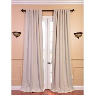 Eggnog 120-inch Blackout Curtain Panel Pair