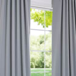 Purit Blue 84-inch Blackout Curtain Panel Pair