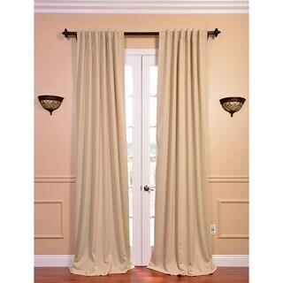 Biscotti Beige 96-inch Blackout Curtain Panel Pair