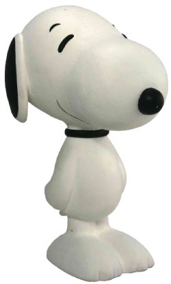 Snoopy Flocked Vinyl Figure: Classic White (Toy)