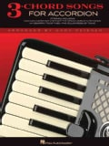 3-Chord Songs for Accordion (Paperback)