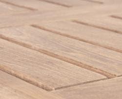 Solid Teak Natural Square Side Table