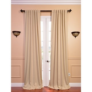 Biscotti Beige Blackout Curtain Panel Pair