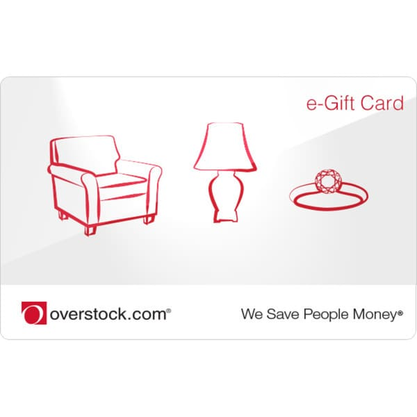$50 Overstock.com Electronic Gift Card