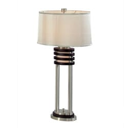 Nova Lighting 'Kobe' Wood Table Lamp (Pack of 2)