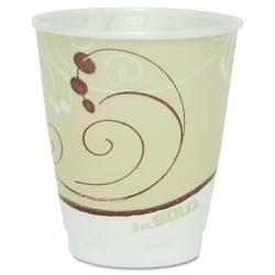 SOLO Symphony Design 8-oz Hot Drink Cups (Case of 1,000)