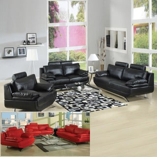 Jessica Bonded Leather 2-piece Set