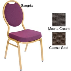 Tear Drop Style Gold Banquet Stack Chairs (Case of 40)