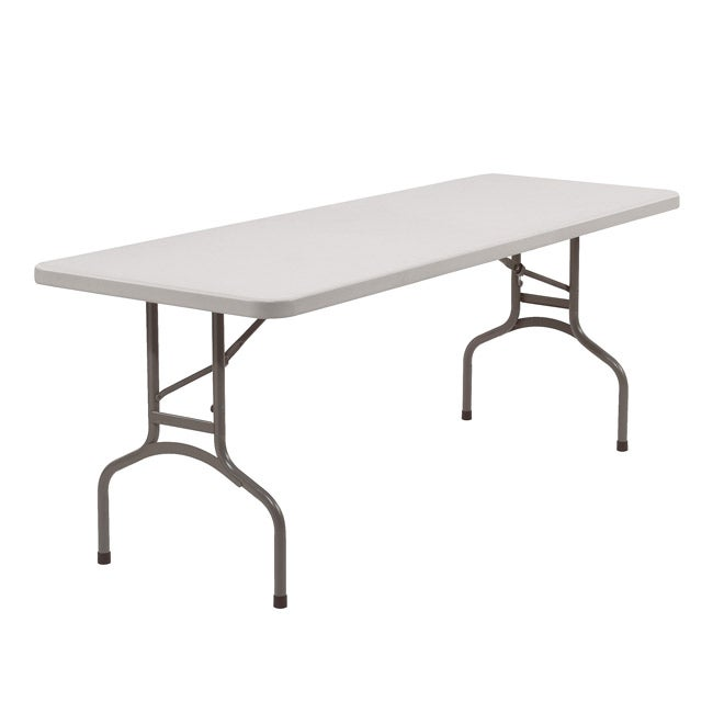 Blow Molded 30x96-in Lightweight Folding Tables (Pack of 10)