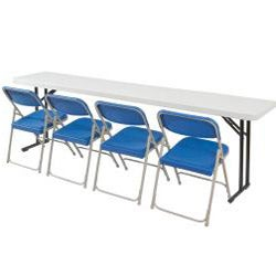 Seminar-style 18x96-in Lightweight Folding Tables (Pack of 10)