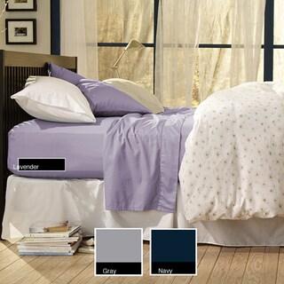 Sealy Cotton Sateen Queen/King 330 Thread Count Bonus Sheet Set