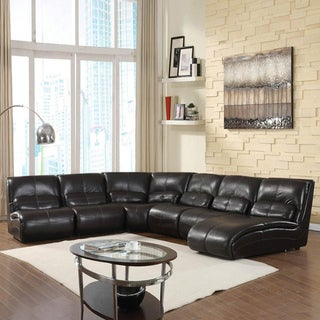 The Rose 6-piece Brown Sectional Set