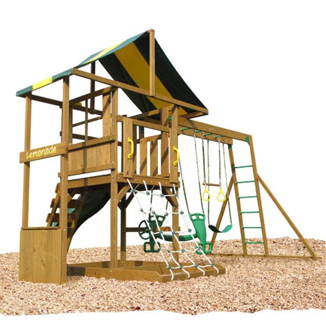 Play Time Andover Outdoor Swing Set