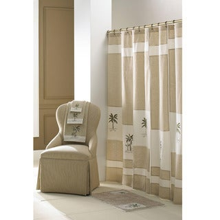 Tropical Pattern Croscill Home 70x72-inch Fiji Shower Curtain