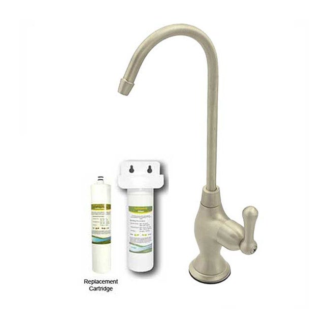 westbrass satin nickel cold water drinking faucet
