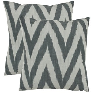 Deco 22-inch Silver Decorative Pillows (Set of 2)