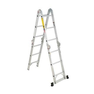 Werner Ladder Aluminum Folding Multi-Ladder
