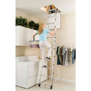 Werner Ladder Telescoping Attic Ladder